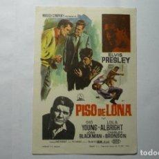 Cine: PROGRAMA PISO DE LONA .-ELVIS PRESLEY. Lote 162705232