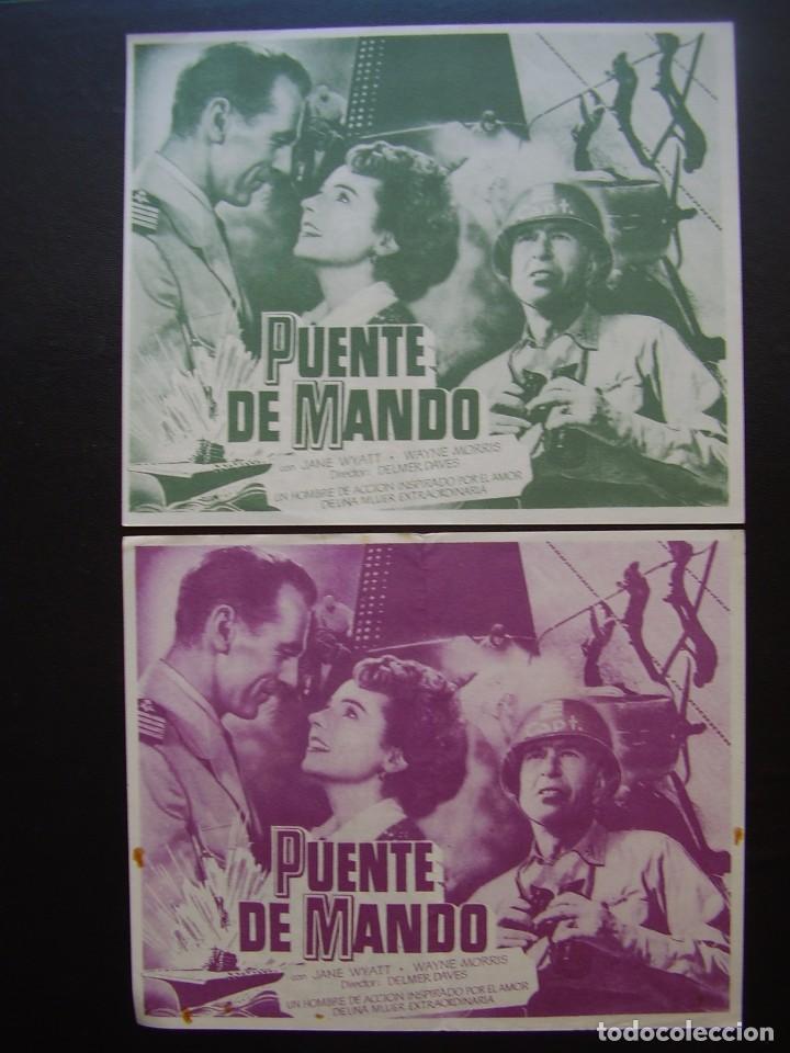 Cine: PUENTE DE MANDO, GARY COOPER, VARIANTE - Foto 2 - 82932072