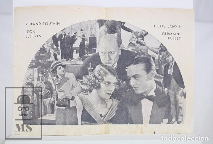 Cine: Programa de Cine Doble - Rouletabille Aviador - Equitable Films / Osso, 1935 - Foto 2 - 83292400