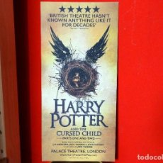 Cine: HARRY POTTER AND THE CURSED CHILD - PALACE THEATRE LONDON - FOLLETO DE LA OBRA. Lote 84347372