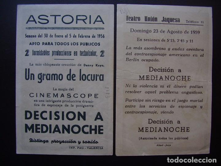 Cine: DECISIÓN A MEDIANOCHE, GREGORY PECK, VARIANTE - Foto 2 - 84510892
