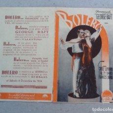 BOLERO, GEORGE RAFT, CAROLE LOMBARD