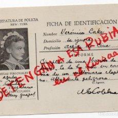 Cine: PRO004 DETENGAN A ESA RUBIA. VERONICA LAKE. PROGRAMA DE MANO. 1945. Lote 84831964