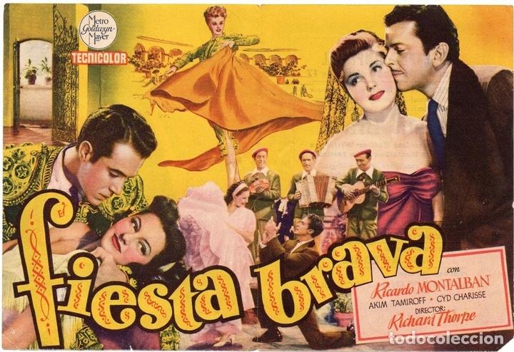 Cine: PRO007 FIESTA BRAVA. ESTHER WILLIAMS. PROGRAMA DE MANO. CON PUBLICIDAD. 1947 - Foto 2 - 84833284