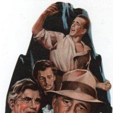 Cine: PRO009 EL TESORO DE SIERRA MADRE. HUMPHREY BOGART. CON PUBLICIDAD. 1949. Lote 84834096