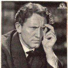 Cine: PRO013 EDISON EL HOMBRE. SPENCER TRACY. PROGRAMA DOBLE. CON PUBLICIDAD. 1946. Lote 84835688