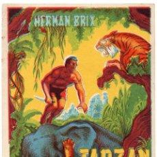 Cine: PRO023 TARZÁN EN LA CIUDAD MUERTA. HERMAN BRIX. 1935. Lote 84944212