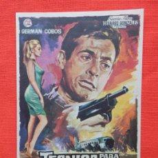Cine: TECNICA PARA UN SABOTAJE, IMPECABLE SENCILLO, GERMAN COBOS, CINE VERSALLES PALACE 1970. Lote 85075832
