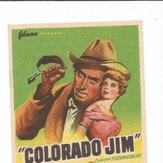 Cine: COLORADO JIM - SENCILLO - CON PUBLICIDAD. Lote 85188872