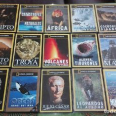 Cine: LOTE 15 DVD NATIONAL GEOGRAPHIC. Lote 85729304
