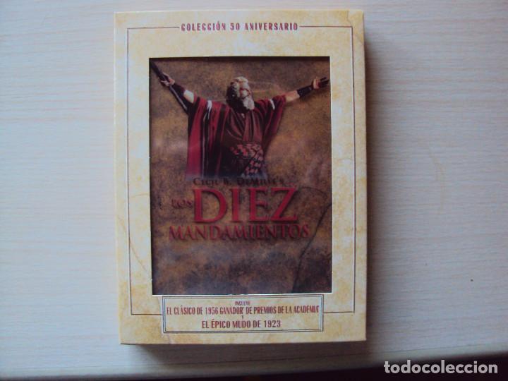 SUPER DVD DE LOS DIEZ MANDAMIENTOS (Cine - Folletos de Mano - Acción)