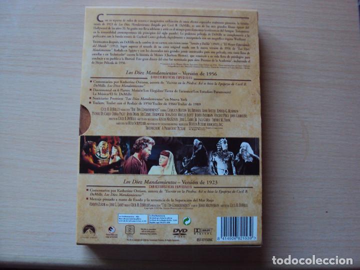 Cine: super dvd de los diez mandamientos - Foto 2 - 85823212