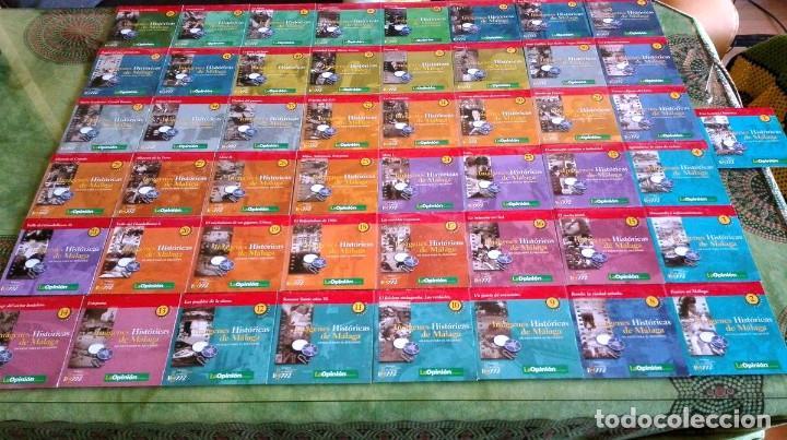 IMAGENES HISTORICAS DE MALAGA 49 CD'S (Cine - Folletos de Mano - Documentales)