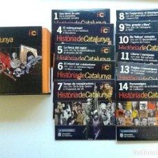 Foglietti di film di film antichi di cinema: HISTORIA DE CATALUNYA - LA VANGUARDIA 11 CDS + ESTUCHE. Lote 86931984