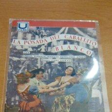 Cine: PROGRAMA DE CINE DE POSADA DEL CABALLITO BLANCO TEATRO DE LAS CORTES SAN FERNANDO CON PUBLICIDAD. Lote 86995120