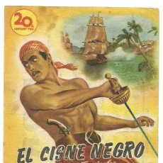 Cine: FOLLETO DE MANO ORIGINAL CINE - EL CISNE NEGRO - PUBLICIDAD EN EL REVERSO. Lote 87590872