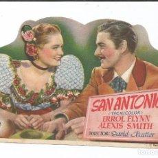 Cine: SAN ANTONIO - SENCILLO - CON PUBLICIDAD. Lote 87628728