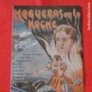 Cine: HOGUERAS EN LA NOCHE, DOBLE, CARMEN RODRIGUEZ LUIS VILLASIUL, CON PUBLICIDAD CINEMA OLIMPIA. Lote 87661752