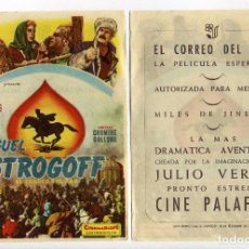 Cine: MIGUEL STROGOFF, EL CORREO DEL ZAR, CON CURD JURGENS. C/I.. Lote 171711843