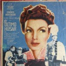 Cine: PROGRAMA GRANDE EL ULTIMO HUSAR-CONCHITA MONTENEGRO PUBLICIDAD. Lote 88571036