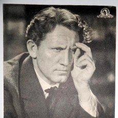 Foglietti di film di film antichi di cinema: FOLLETO DE MANO DOBLE. 'EDISON, EL HOMBRE', CON SPENCER TRACY. CON PUBLICIDAD DE CINE GOYA, ZARAGOZA. Lote 89198908