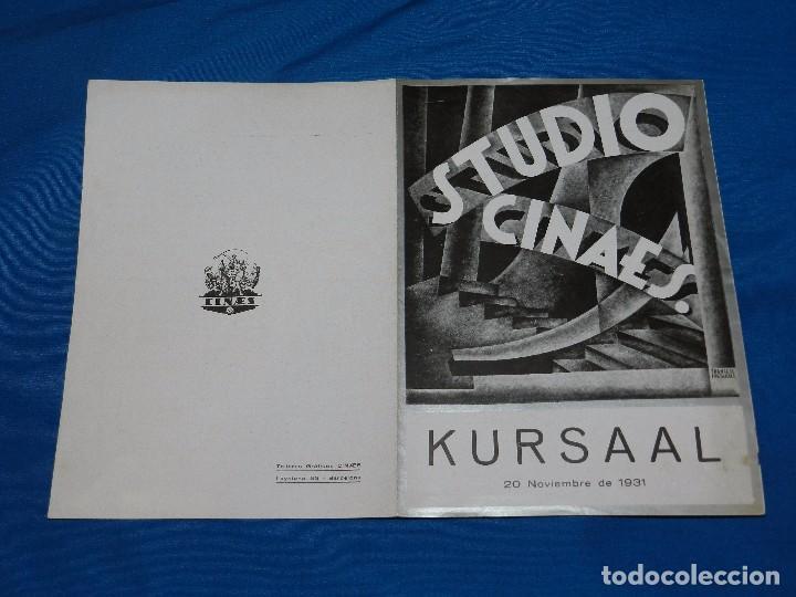 STUDIO CINAES SHORTS ,DOS PRODUCCIONES 1896 GEORGES MELIES, LA TIERRA ,20 NOVIEMBRE 1931 VANGUARDIAS (Cine - Folletos de Mano - Ciencia Ficción)
