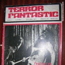 Cine: (T.1) REVISTA DE TERROR FANTASTIC Nº 1 AÑO 1971 ( FILMOGRAFIA DE BORIS KARLOFF. Lote 89357904