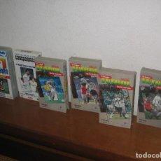 Cine: LOTE 6 PELÍCULAS VHS SURTIDAS TEMÁTICA FÚTBOL. Lote 89475972