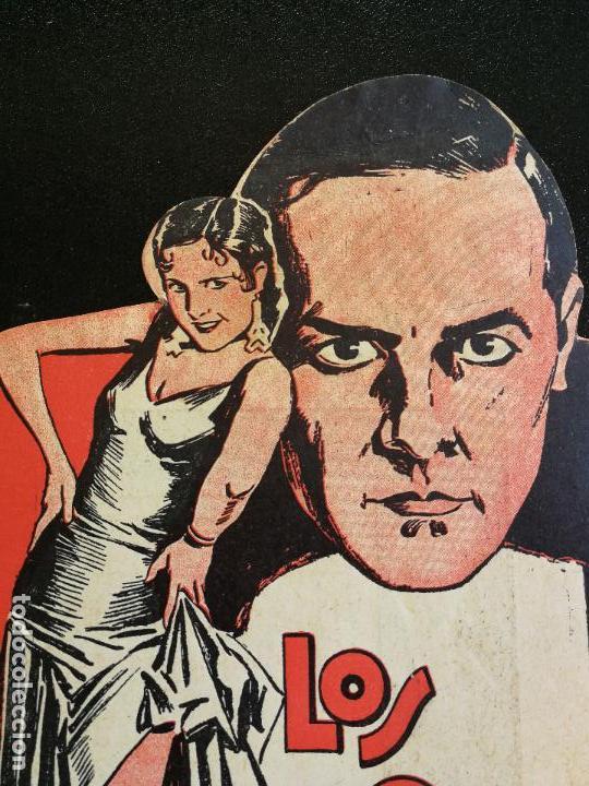 Cine: LOS QUE DANZAN - PROGRAMA FOLLETO DE CINE TROQUELADO – 1932 – ANTONIO MORENO Y MARÍA ALBA . - Foto 3 - 89545804