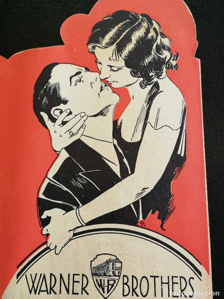 Cine: LOS QUE DANZAN - PROGRAMA FOLLETO DE CINE TROQUELADO – 1932 – ANTONIO MORENO Y MARÍA ALBA . - Foto 6 - 89545804