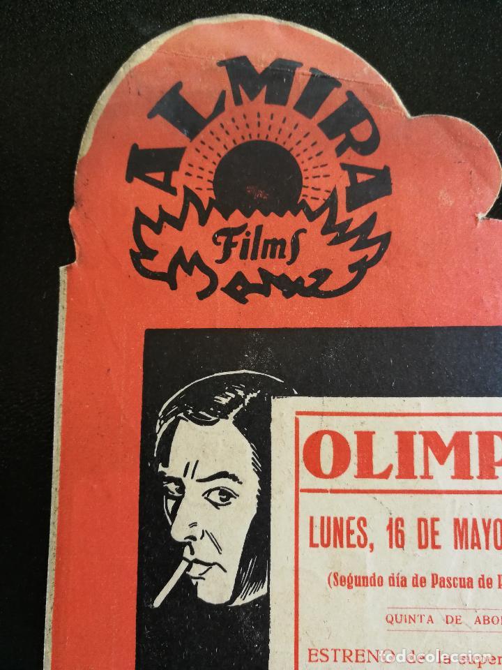 Cine: LOS QUE DANZAN - PROGRAMA FOLLETO DE CINE TROQUELADO – 1932 – ANTONIO MORENO Y MARÍA ALBA . - Foto 8 - 89545804
