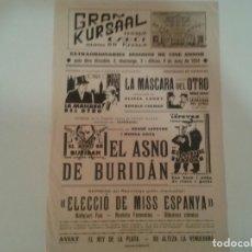 Cine: RONALD COLMAN EN LA MASCARA DEL OTRO. PASQUIN . Lote 90218696