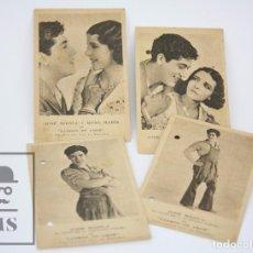 Cine: CONJUNTO DE PROGRAMAS DE CINE / POSTALES - LADRÓN DE AMOR - JOSÉ MÓJICA - PRODUCCIÓN FOX, 1930. Lote 90431389