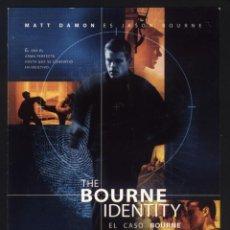 Cine: P-8650- EL CASO BOURNE (THE BOURNE IDENTITY) MATT DAMON - FRANKA POTENTE - CHRIS COOPE - BRIAN COX. Lote 198814566