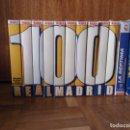 Cine: 100 AÑOS DEL REAL MADRID, VHS (10 CINTAS + 2 DE REGALO) ENVÍO INCLUIDO. Lote 93198140
