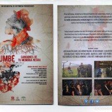 Cine: GURUMBÉ, CANCIONES DE TU MEMORIA NEGRA, DE MIGUEL ANGEL ROSALES.. Lote 113523266