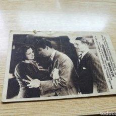Cine: PROGRAMA DE CINE CARTÓN. ALCOHOL PROHIBIDO. CON PUBLICIDAD CINE GADES. 1934. Lote 94131738