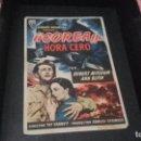Cine: PROGRAMA DE MANO ORIGINAL- COREA...HORA CERO - CON PUBLICIDAD( PEDIDO MINIMO 5 EUROS ). Lote 95052751