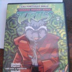 Cine: LAS TORTUGAS NINJAS, 3 EPISODIOS DE LOS DIBUJOS ANIMADOS, EN DVD. BUEN ESTADO. USADO.. Lote 95220115