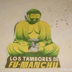 Cine: LOS TAMBORES DE FU-MANCHÚ- DOBLE TROQUELADO - . Lote 95592299