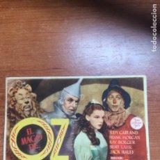Cine: EL MAGO DE OZ, SIN PUBLICIDAD.. Lote 95603778