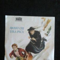 Cine: PROHIBIDO ROBAR FOLLETO DE MANO SIN PUBLICIDAD. Lote 95608351