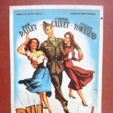 Flyers Publicitaires de films Anciens: FOLLETO DE MANO ORIGINAL .- BILL !QUE GRANDE ERES! .- DAN DAILEY---CINE CARDENIO,AYAMONTE,HUELVA--. Lote 113186214