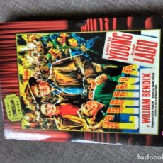 Cine: DVD CHINA - LORETTA YOUNG - ALAN LADD - WILLIAM BENDIX - JOHN FARROW - BUTLER. Lote 95803299