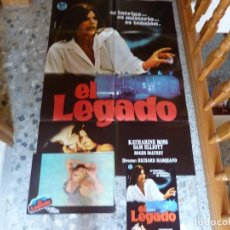 Cine: POSTER DE EL LEGADO + COLECCION COMPLETA DE POSTALES. Lote 95814139
