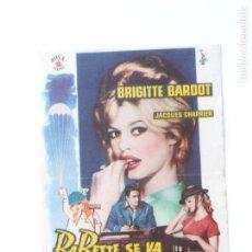 Cine: PROGRAMA DE CINE - BABETTE SE VA A LA GUERRA - SIN PUBLICIDAD -. Lote 95823903