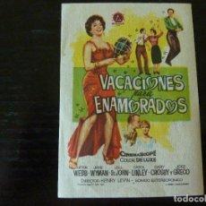 Cine: PROGRAMA DE CINE IMPRESO EN LA PARTE TRASERA. Lote 95829791