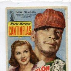 Cine: ABAJO EL TELÓN, CON MARIO MORENO, CANTINFLAS.C/I.. Lote 95956615