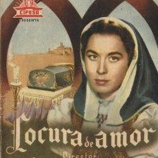 Cine: LOCURA DE AMOR . Lote 95959891