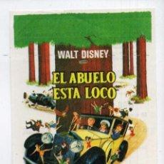 Cine: EL ABUELO ESTÁ LOCO, CON WALTER BRENNAN. C/I.. Lote 95967751